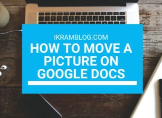 How to Move a Picture on Google Docs