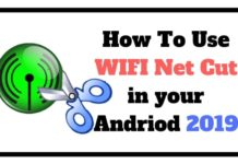 HOW TO USE WIFI NET CUT IN YOUR ANDROID 2019