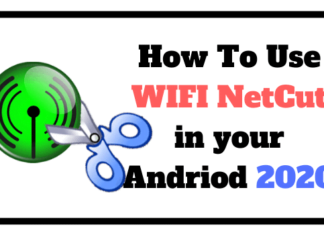 NETCUT FOR ANDROID