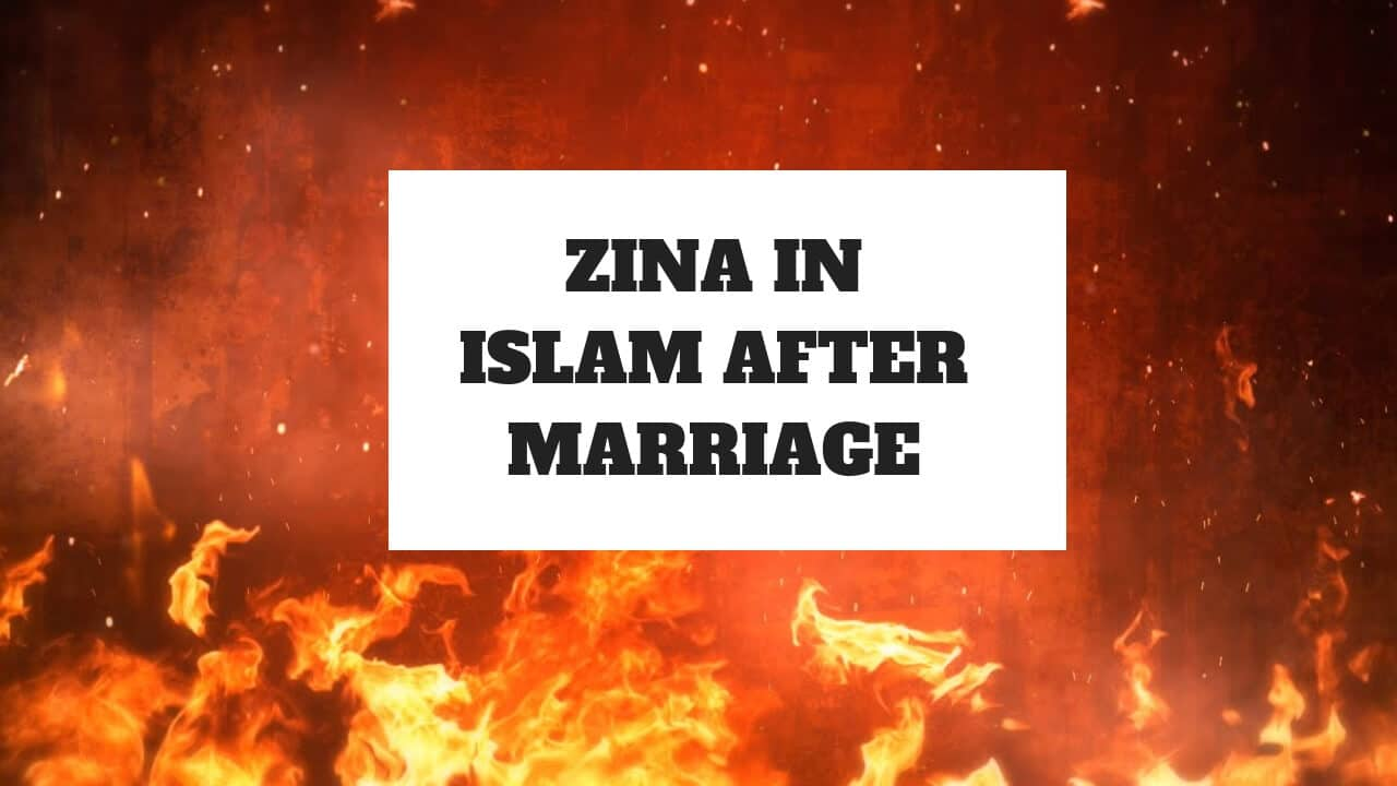 zina in islam after marriage