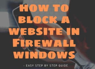 how to block a website in Firewall windows 7 - Easy Step by Step Guide