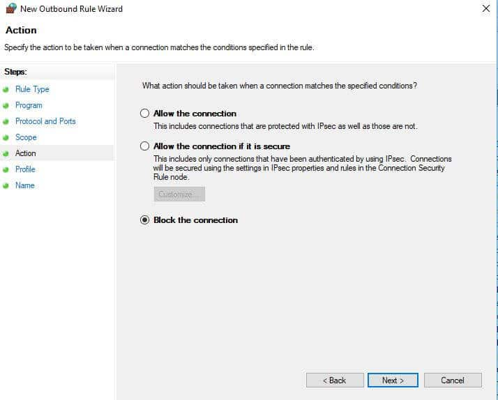 HOW TO BLOCK A WEBSITE IN WINDOWS 10 FIREWALL BY USING IP ADDRESS