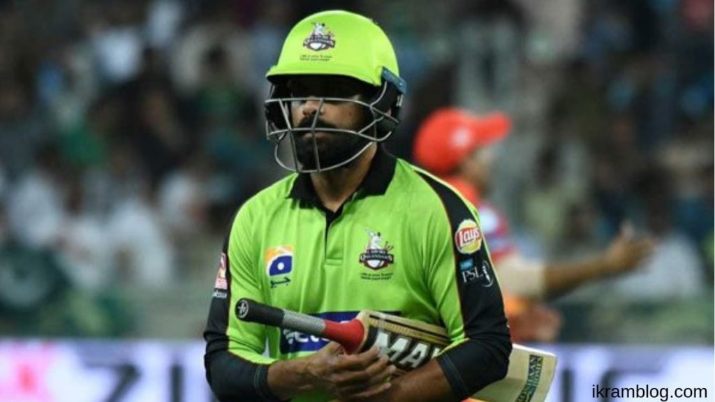 MOHAMMAD HAFEEZ RULED OUT OF SEASON DUE TO A FINGER INJURY