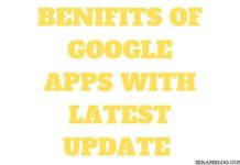 BENEFITS OF GOOGLE APPS